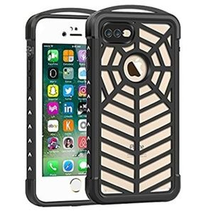 Accessories - Waterproof Case for Apple iPhone 7 Plus,Spiderweb